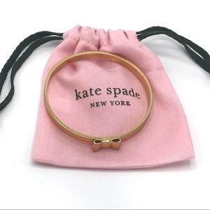 Kate Spade New York Bow Bangle Gold Bracelet